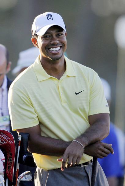 El ánimo del golfista número uno del mundo parece estar in...