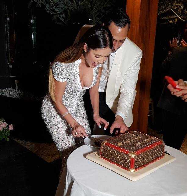 Marlene Favela celebra su cumpleaños con gran fiesta de compromiso