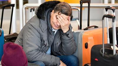 Cierre de la Terminal B del Aeropuerto Intercontinental George Bush está afectando directamente a los viajeros