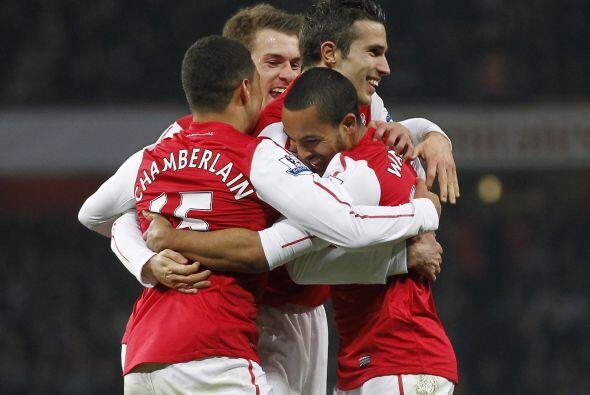 Arsenal tenía el factor anímico de su lado.