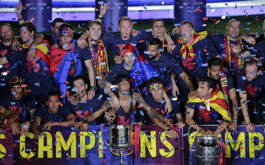El Barça es Campeón de la Champions y logra el triplete - El FC Barcelon...