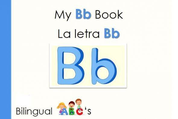 Te traemos otro libro bilingüe para aprender las letras. Incluye las pal...