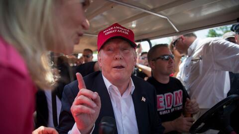 La actitud de Trump hacia la mujer ha tomado protagonismo en la campaña.