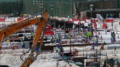 Las condiciones de los trabajador es de los estadios en Catar han sido m...