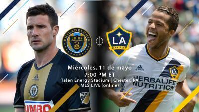 Philadelphia Union vs LA Galaxy, 11 de mayo