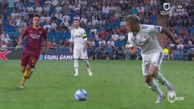 Con golazo de Mariano Díaz, Real Madrid derrotó 3-0 a la Roma en la Champions League