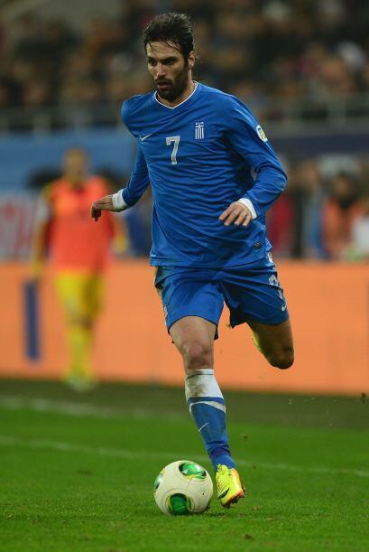 Georgios Samaras: Un delantero con olfato goleador que llevó a Grecia a...