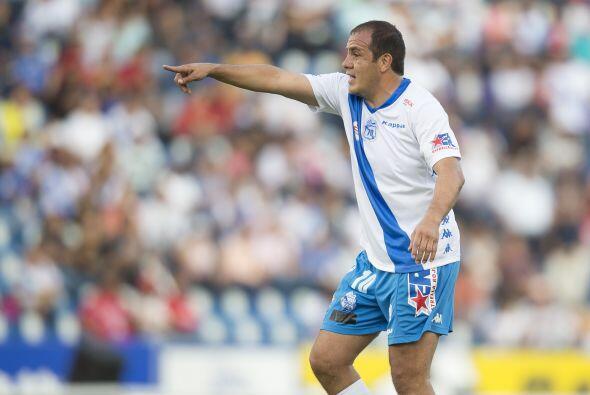 Un gol y 244 minutos en la cancha, es todo el historial de Cuauhtémoc Bl...