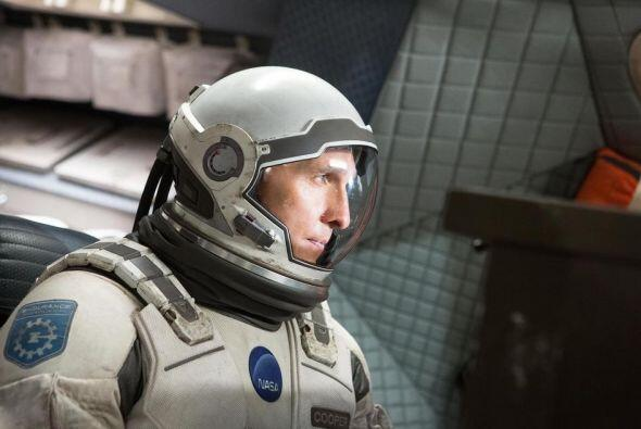 """La ciencia ficción se quedó en el noveno lugar gracias a """"Interstellar""""."""
