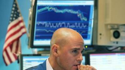 En Wall Street la apertura apuntaba a una desbandada de los inversionist...