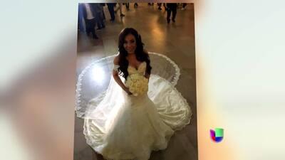 ¿Cuánto? Mira lo que costó el hermoso vestido de bodas de Gelena Solano