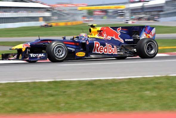 Aunque Sebastian Vettel arrancó en la primera línea, concluyó la carrera...