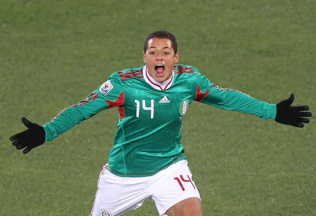'Chicharito' Hernández el máximo goleador del 'Tri' GettyImages-10217718...