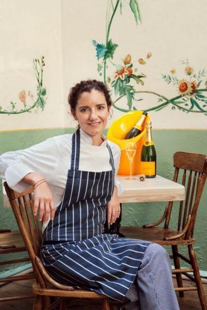 La chef mexicana Elena Reygadas fue reconocida con el Premio Veuve Clicq...