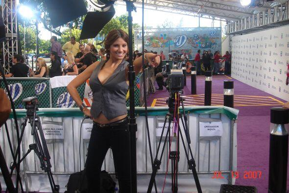 Argelia en Premios Juventud