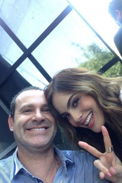 """""""Ensayo general con la Miss universo 2010 y mi gran amiga @ximenanr de l..."""
