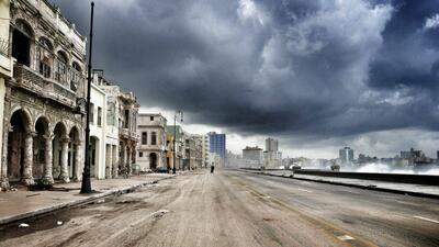 Fotos: El huracán Irma hace añicos muchos de los ruinosos edificios de La Habana