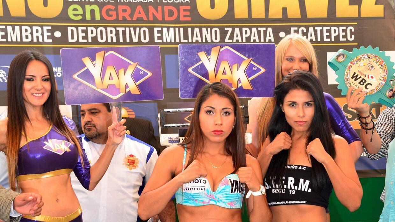 Chávez y Muciño en peso