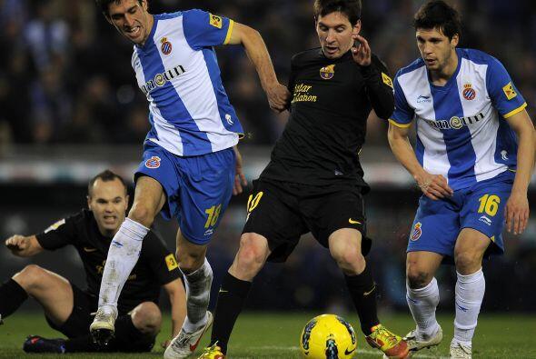 Lionel Messi tuvo un partido muy por debajo de su nivel habitual.