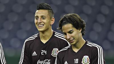 Las dos 'joyas' mexicanas jugarán por primera vez ante Estados Unidos