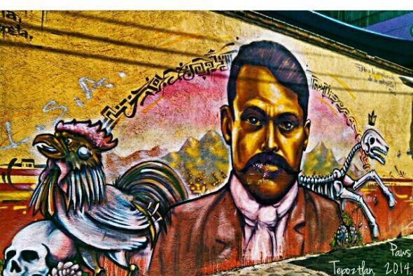 El #StreetArt se ha vuelto popular en la ciudad de México, donde...