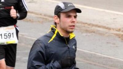 Andreas Lubitz participó en el medio maratón de Frankfurt en marzo de 2010.