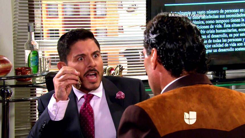 ¡Todo iba bien hasta que Santiago encontró un arete de Isabel!