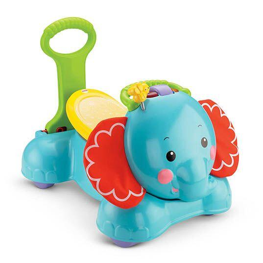 Fisher Price 3 in 1, Stride and Ride Elephant. Este juguete es la herram...