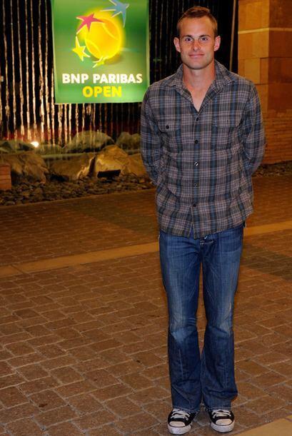 Andy Roddick también estuvo presente en la reunión.