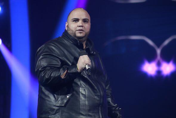 Ricardo fue el primero en tomar por asalto el escenario.