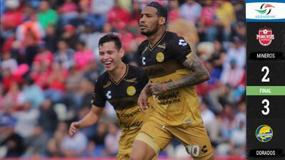 Dorados continúa su buena racha y venció a Mineros de Zacatecas