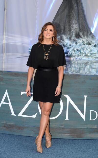 Silvia Navarro se divirtió en el estreno en México de la cinta 'In the H...