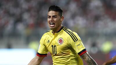 James Rodríguez, 27 años de gloria y pasión por el fútbol