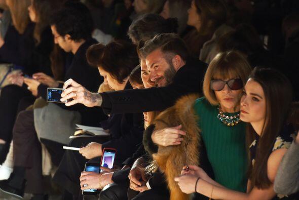 Los chicos Beckham se tomaron varias selfies.