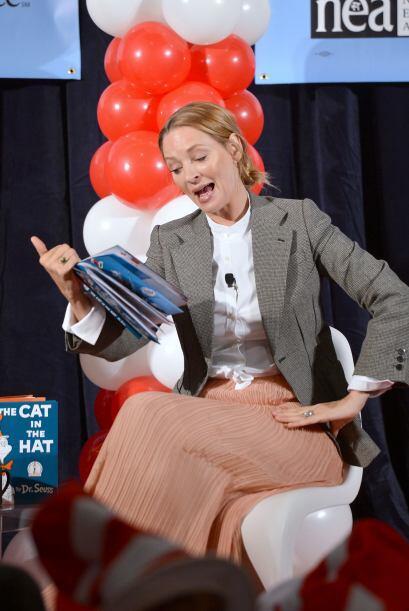 Si tu mami es como Uma Thurman y le encanta estar leyendo en sus ratos l...