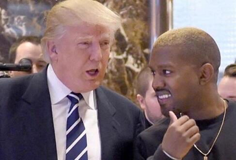 Kanye West había publicado fotos y tuits en apoyo a Donald Trump...