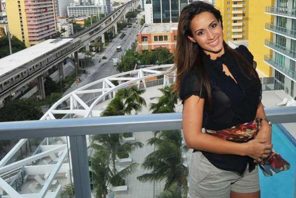 La guapa puertorriqueña está muy contenta de tener un lugar tan hermoso...