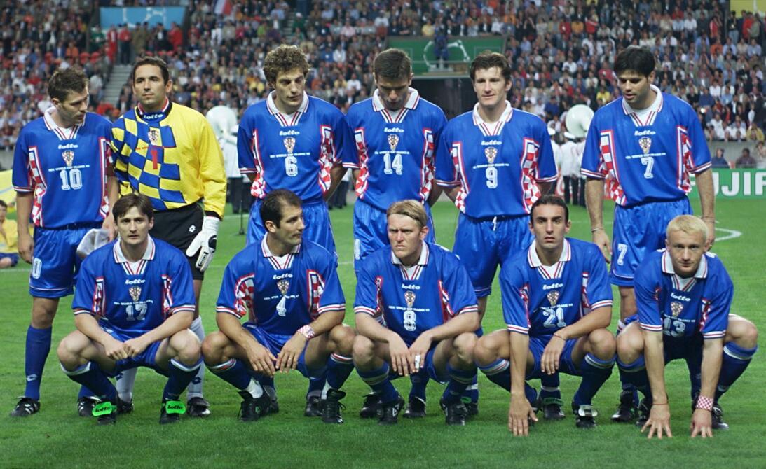 Historias de Mundiales: la debutante Croacia que sorprendió con su talen...