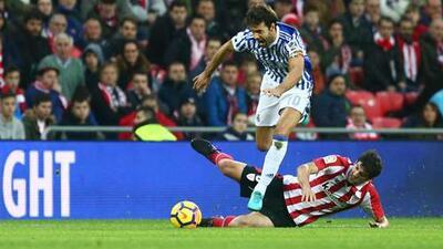 Real Sociedad y Athletic de Bilbao igualaron sin goles.