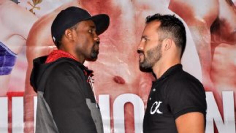 Harris y Álvarez prometieron un gran espestáculo (Foto: Canelo Promotions).