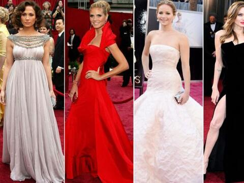 ¡Ellas son las 'glamourosas' chicas que han portado los mejores 'l...