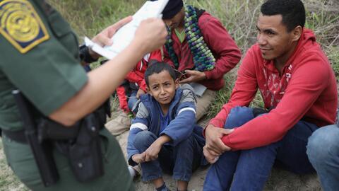 Detención en la frontera