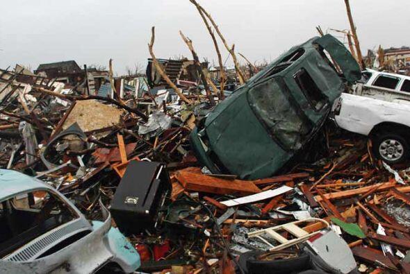 Las tormentas azotaron la región desde el fin de semana pasado desde Jop...