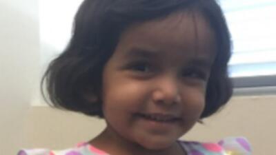 Sherin Mathews, de 3 años.