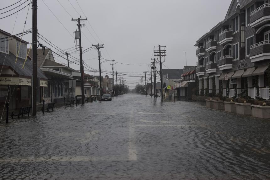 Gigantesca nevada golpea a Nueva Jersey