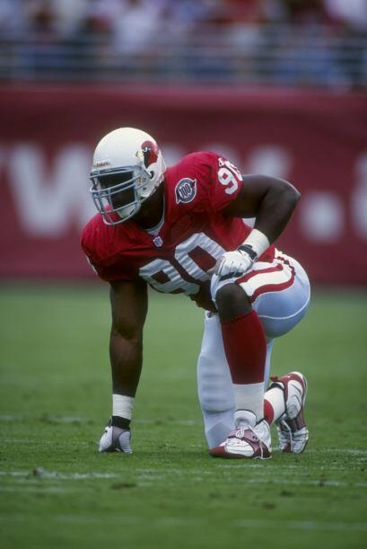 10. Andre Wadsworth: La tercera selección del Draft de 1998 tuvo una lar...