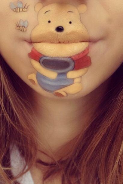 Winnie Pooh, el oso come miel.
