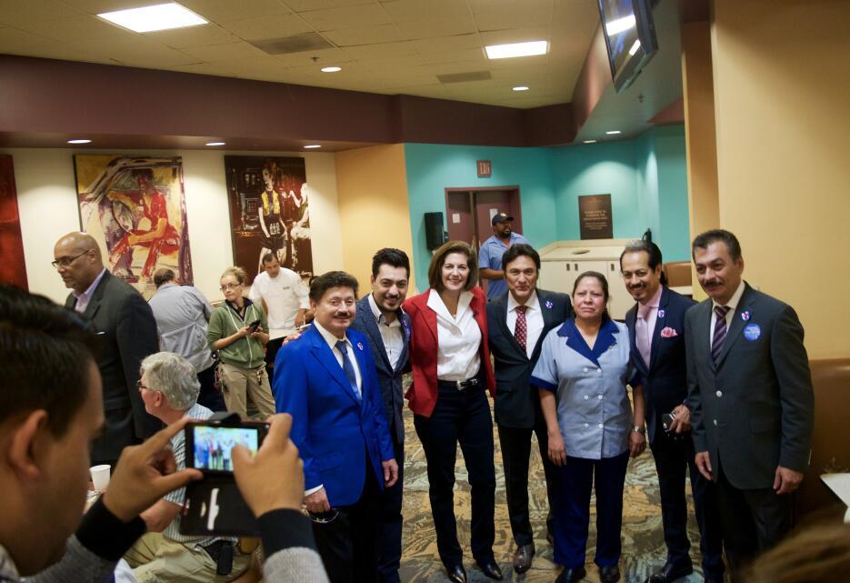 Trabajadores del casino Caesars Palace se sorprendieron con la visita de...