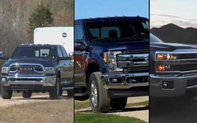 Las tres mejores opciones para escoger una buena pickup Heavy Duty