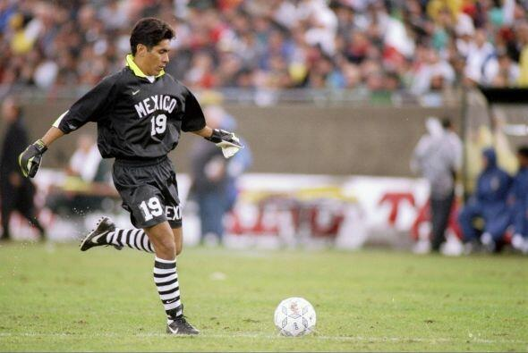 El 'brody' fue un gran portero de la selección de México p...